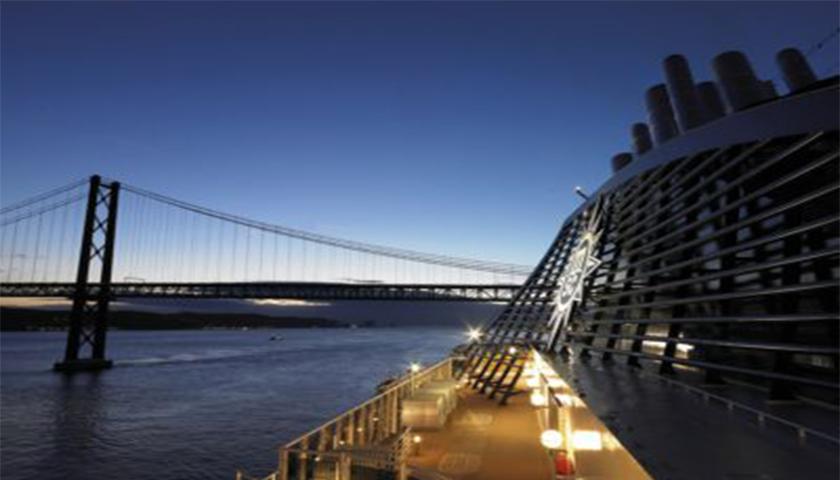 Lisboa é o destino de eleição dos passageiros de cruzeiros