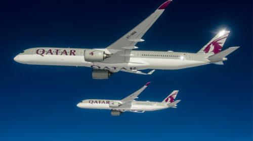 Airbus entrega o primeiro A350-1000 à Qatar