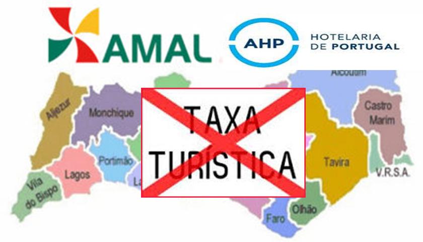 """AHP """"contra"""" a AMAL por causa da taxa turística no Algarve"""