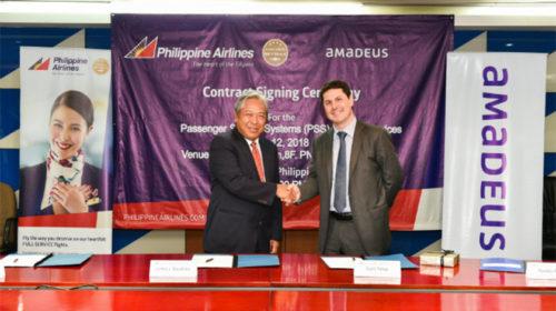 Philippine Airlines escolhe a tecnologia Amadeus