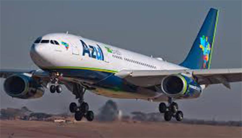 Azul vai aumentar voos entre Brasil e Portugal
