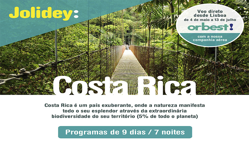 Jolidey lança programação para a Costa Rica