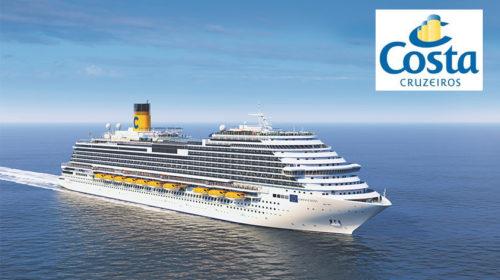 Novo Costa Venezia já tem itinerário de abertura marcado