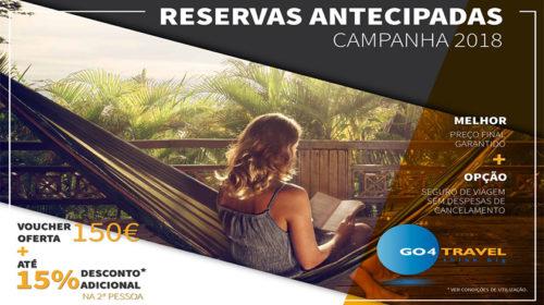 GO4TRAVEL lança campanha de reservas antecipadas