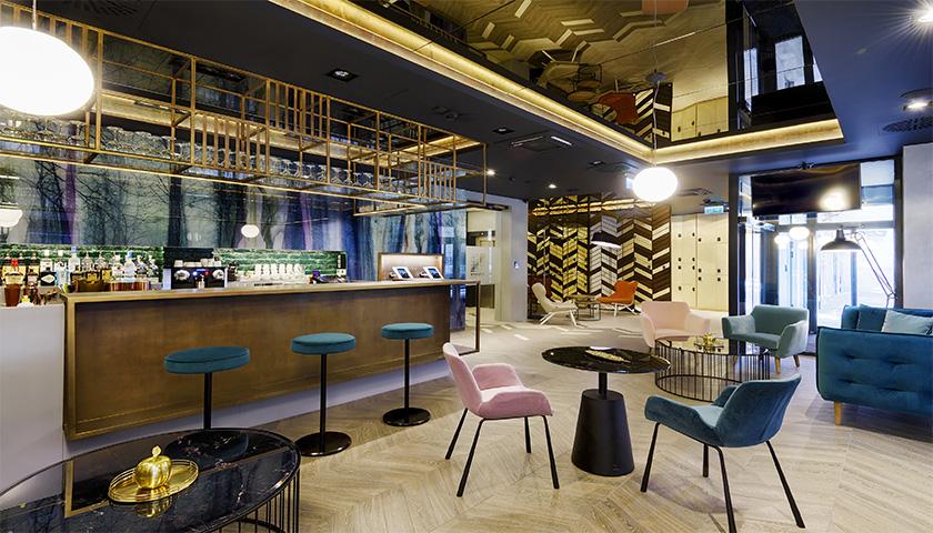 Hotel do futuro abriu em Budapeste