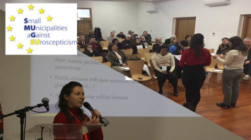 Small Municipalities Against Euroscepticism reunidas em Torres Novas