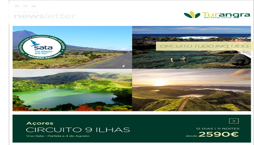 "Turangra propõe ""Circuito 9 Ilhas"" nos Açores"