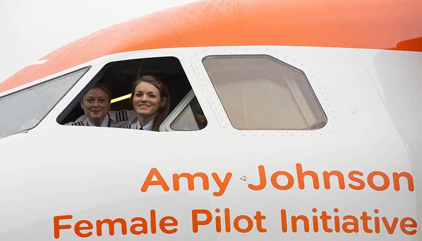 easyJet quer acabar com tabus de género entre a comunidade de pilotos