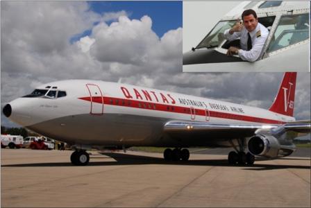 Boeing 707 John Travolta Will Return To Australia Opcao Turismo